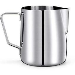 12 oz milk pitcher steam frothing steaming
