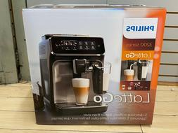 Philips 3200 Fully Automatic Espresso Machine LatteGo Glossy