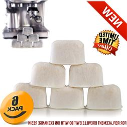 6 Packs Breville Espresso Replacement Water Filters BES870XL