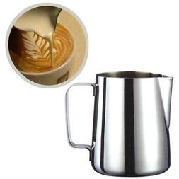 600ml 1000ml Espresso Coffee Milk Frothing Steaming Pitcher