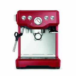 Breville BES840CBXL The Infuser Espresso Machine, Cranberry