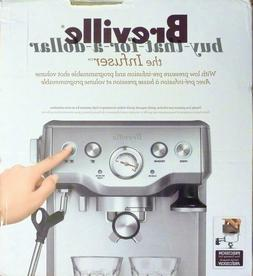 *BRAND NEW*Breville the Infuser Espresso Cappucino Machine-B