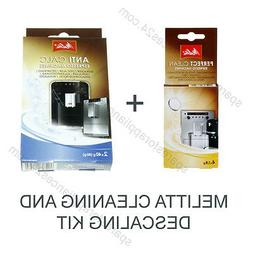 MELITTA CLEANING AND DESCALING KIT FOR COFFEE ESPRESSO MACHI
