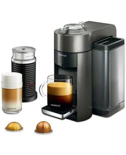 De Longhi Nespresso Vertuo & Aeroccino3 Coffee Maker And Mil