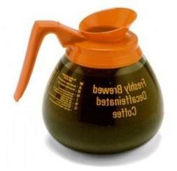 BLOOMFIELD, DECANTER COFFEE DECAF ORANGE 12X9.25 CUP 3 CO, M