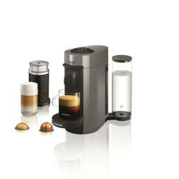 Delonghi Vertuo Plus Grey Single Serve Coffee Maker And Espr