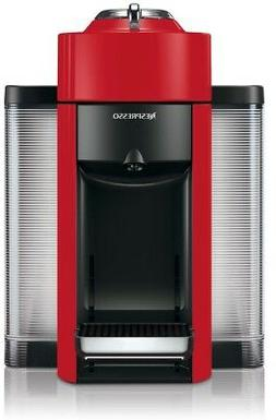 DeLonghi Vertuo Red Single Serve Coffee Espresso Machine Rem