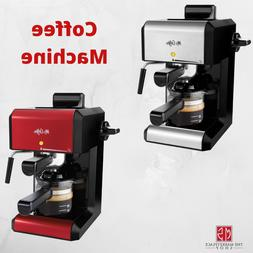 Espresso Machine Cappuccino Maker MR COFFEE Milk Steamer Lat