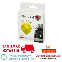 GENUINE BOSCH TASSIMO YELLOW SERVICE T DISC DESCALING CLEANI