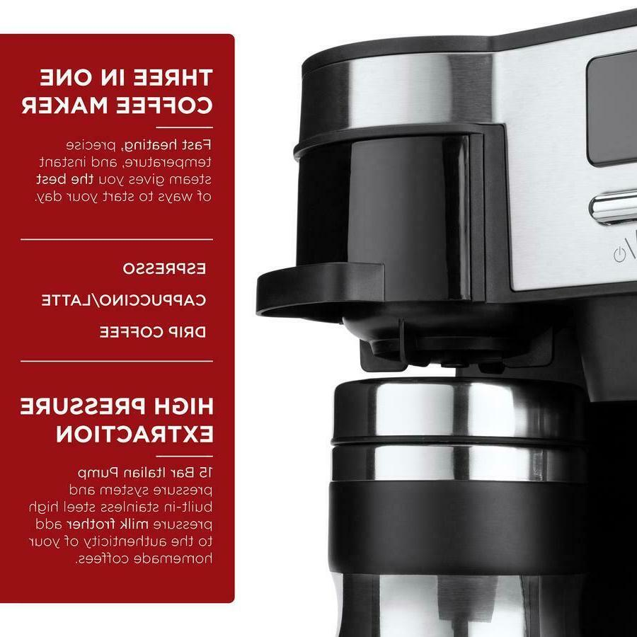 3 in Espresso Coffee Machine Programmable