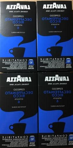 40-Lavazza Expresso Capsules For Nespresso Machines Only Ric