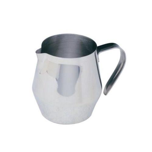 milk frothing steam pitcher 18 oz stainless