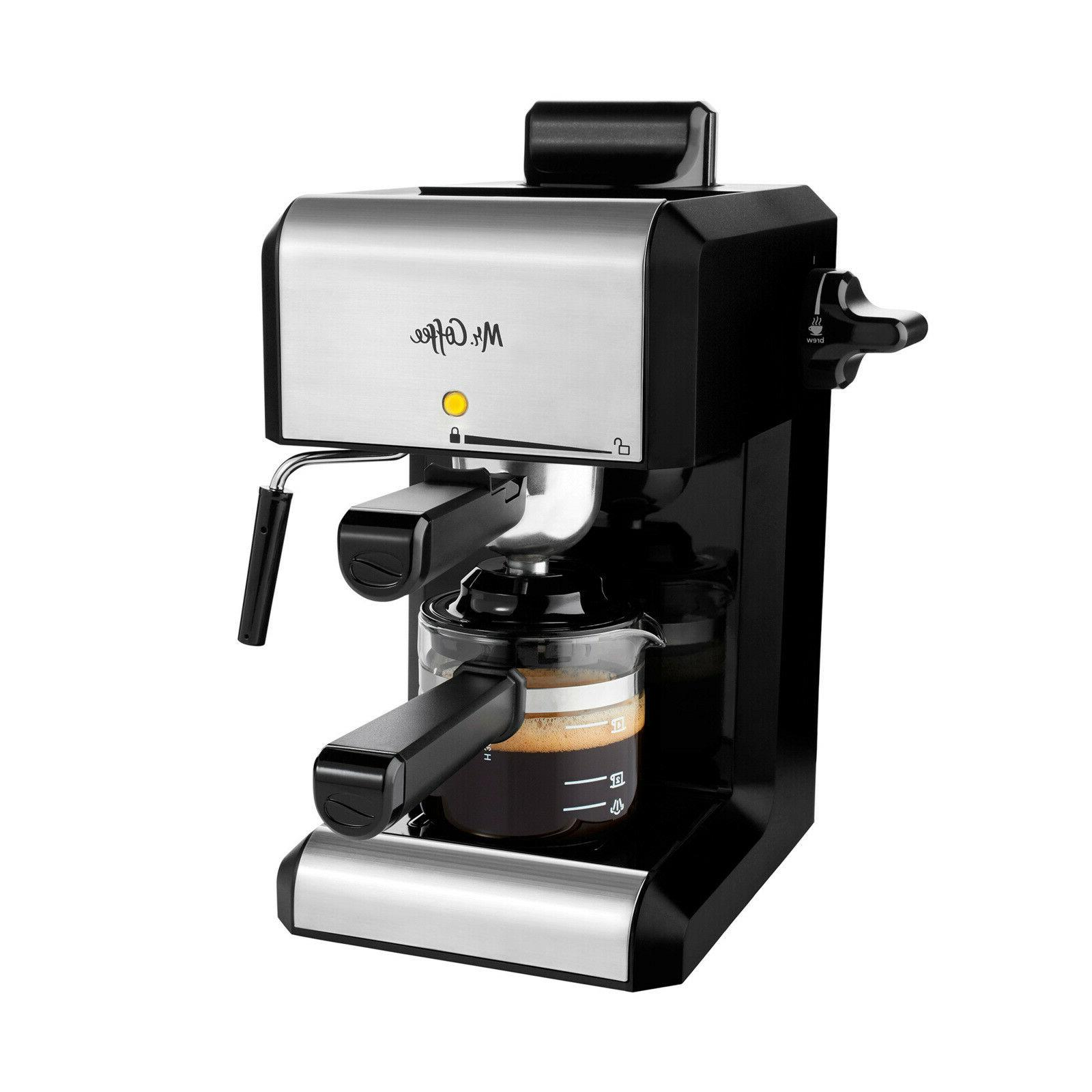 mr coffee cafe 20 ounce steam automatic