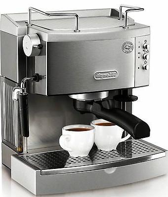 new 15 bar espresso machine frothing cappuccino