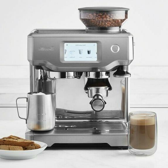 new bes880bss barista touch automatic espresso machine
