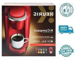 New Keurig K-Compact Red K-Cup Pods Coffee Tea Espresso Make