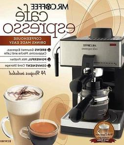 New! Mr Coffee Steam Espresso Machine with Frothing Cappucci