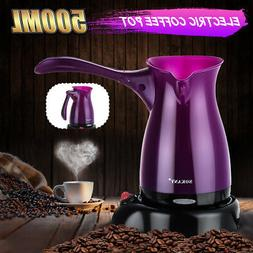 Portable Electric Turkish Coffee Maker Machine Travel Espres