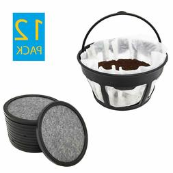 Replacement Cuisinart Charcoal Coffee Water Filters  + Paper