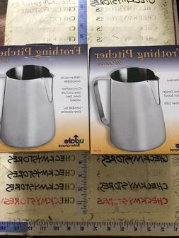 Update International  50 Oz Stainless Steel Frothing Pitcher