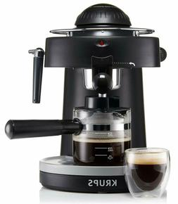 KRUPS XP100050 Steam Espresso Machine with Frothing Nozzle f