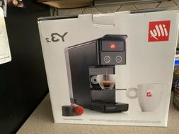Illy Y3.2 Iperespresso and Coffee Machine, Black, Unopened,